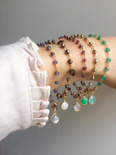 Bracelet EMMA Pyrite