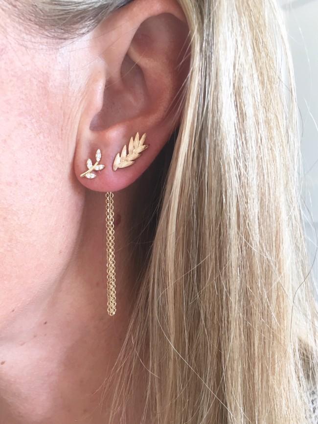 Boucles d'oreilles ROSALIE