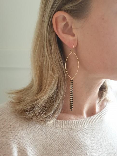 Boucles d'oreilles CAPUCINE