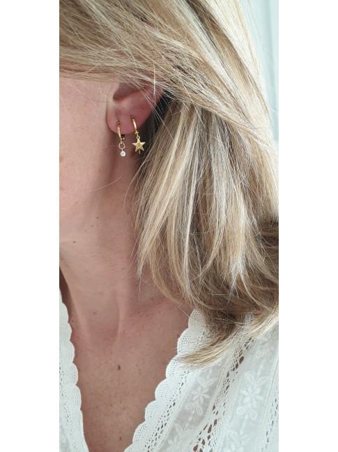 Boucles d'oreilles OCTAVE