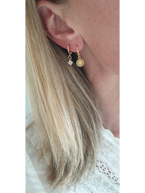 Boucles d'oreilles OSCAR