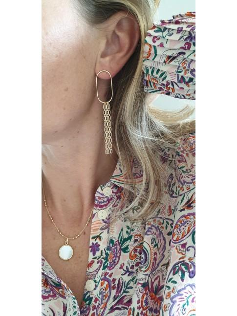 Boucles d'oreilles AGNES