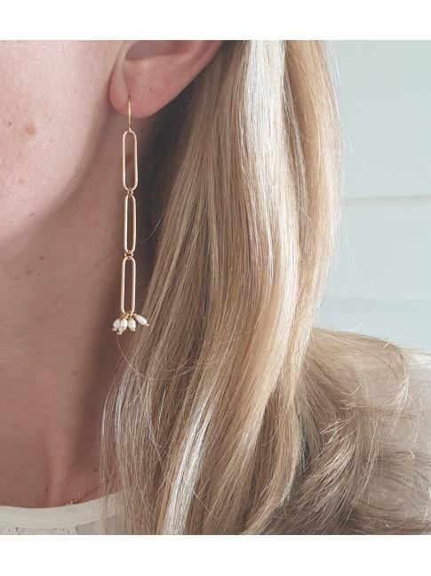 Boucles d'oreilles PETRONILLE