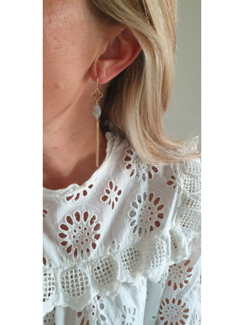 Boucles d'oreilles LUANA