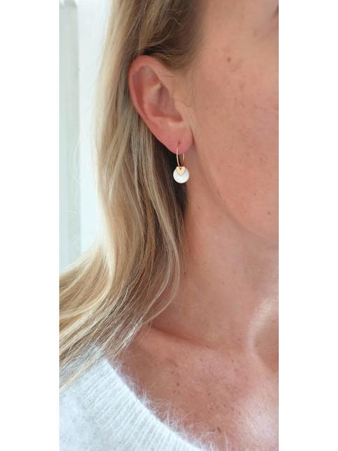 Boucles d'oreilles PAULE