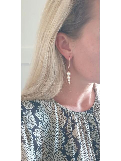 Boucles d'oreilles INES